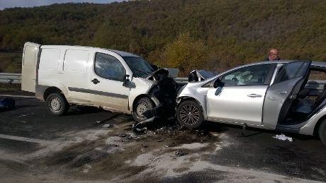 Incidente stradale a Sessano Morto Michele De Blasio di Pesche