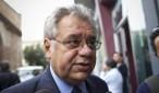 Il Presidente della Regione Molise Angelo Michele Iorio arriva alla Conferenza delle Regioni e delle Province Autonome, Roma, 26 settembre 2012. ANSA/MASSIMO PERCOSSI